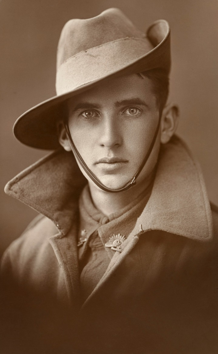 Unidentified soldier, Australia, WW1